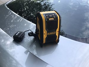 DEWALT 20-Volt/12-Volt Max Bluetooth Speaker new never used for Sale in Silver Spring, MD