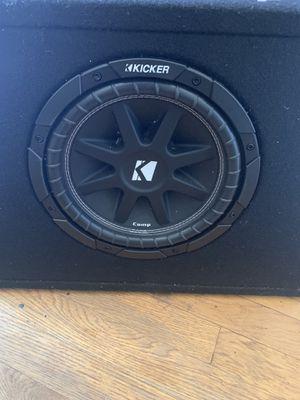 Kicker Subwoofer 10in for Sale in Bridgeport, CT