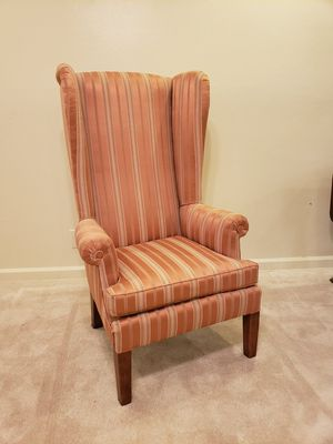 Vintage Accent Wingback chair for Sale in Hanford, CA