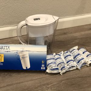 Brita Water Filter w/ 10 New Filters for Sale in Fremont, CA