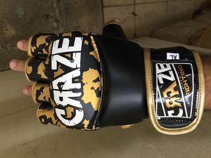 MMA UFC Grappling Gloves Fight Boxing Punch Bag Training Half Finger for Sale for sale  Brooklyn, NY