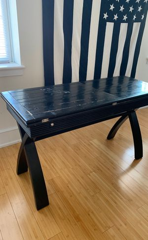 Black Wooden Adjustable Table for Sale in Philadelphia, PA