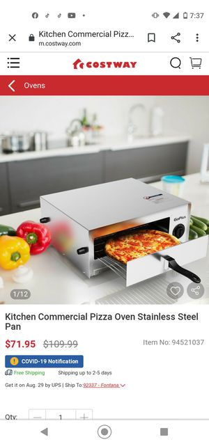 GoPlus pizza 🍕 oven for Sale in Santee, CA
