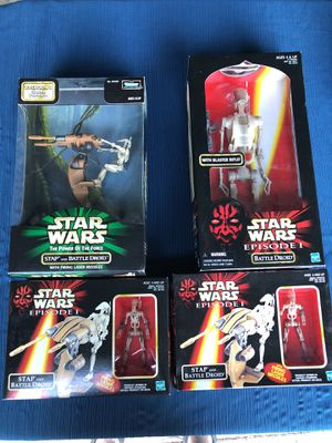 Battle Droid collection. for Sale in Spanaway, WA