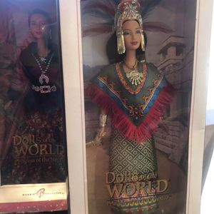 Barbie - Princess Of Ancient Mexico - Princess Of The Navajo And 1 Other for Sale in Glendale, AZ