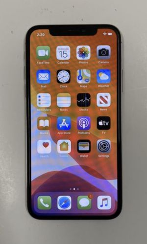 iPhone X 256gb unlocked for any sim T-Mobile metro pcs simple mobile ultra mobile cricket wireless and other carriers for Sale in Los Angeles, CA