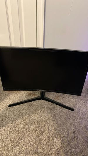 """Samsung CRG5 24"""" Curved Gaming Monitor, 1080P 144Hz for Sale in MD CITY, MD"""