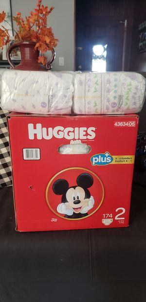 Huggies Diapers 2 for Sale in Garden Grove, CA