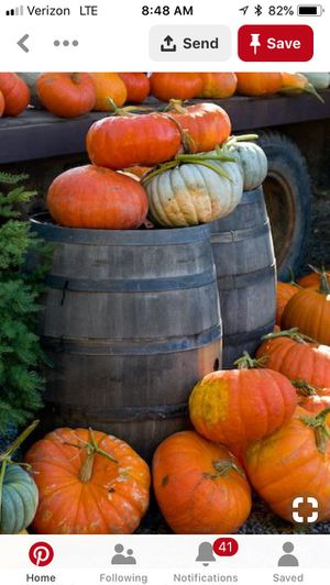 Rustic weathered barrels - for sale for Sale in Yorba Linda, CA