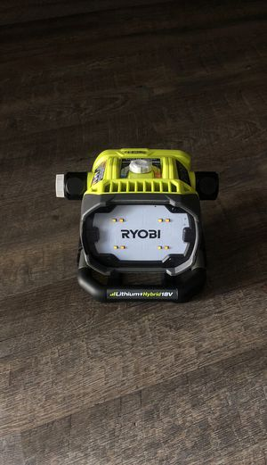 18 volts or eléctric Ryobi work light for Sale in Costa Mesa, CA