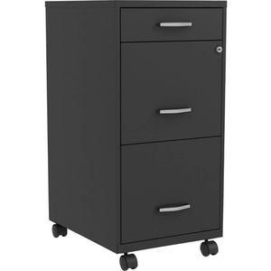 Lorell, SOHO 3-Drawer Steel Mobile File Cabinet for Sale in HOFFMAN EST, IL