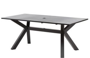 Ink+Ivy Outdoor 72'' Dining Table in Dark Gray Aluminum $250 for Sale in Newark, CA