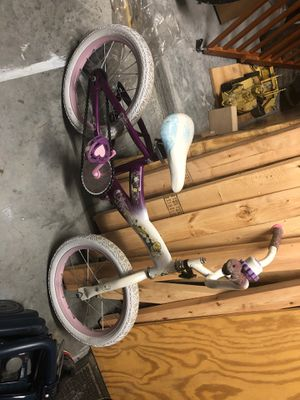 Girls princess Bike for Sale in Hampton, VA