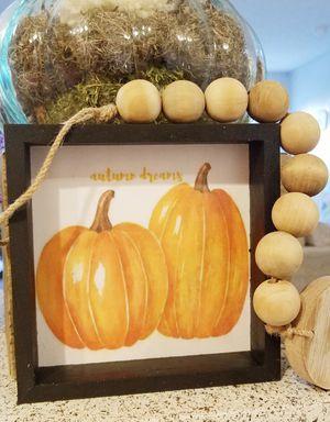 Autumn farmhouse style mini sign for Sale in Colton, CA