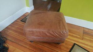 Pure Leather Ottoman for Sale in Boston, MA