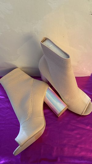 Bootie peep toe boot for Sale in Brooklyn, NY