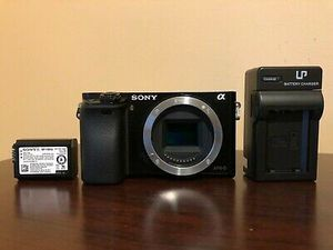 Used Sony Alpha a6000 Mirrorless Digital Camera Body (Black) #605 for Sale in Los Angeles, CA