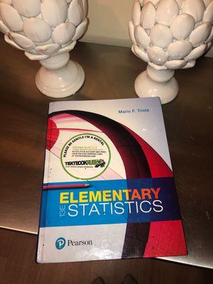 Elementary Statistics for Sale in Montebello, CA