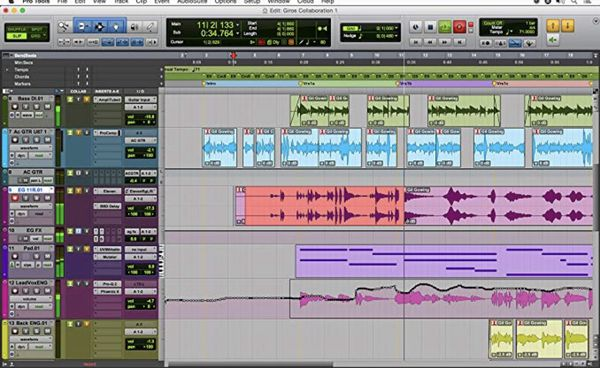 Music production softwares Mac or windows