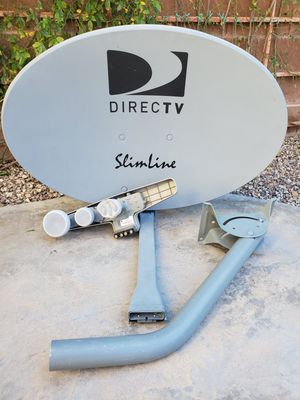 DIRECTV Slimline satellite dish. Signal from 5 Satellites : Ka (99, 103) and Ku (101, 110, 119). for Sale in Las Vegas, NV