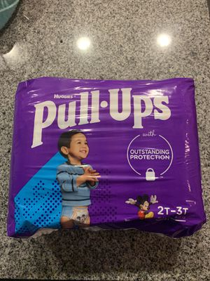 Huggies Pull-Ups 2T-3T - 31 count for Sale in San Diego, CA