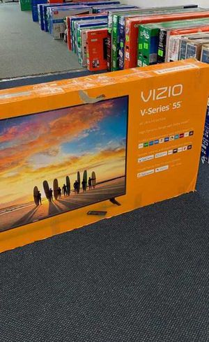 Brand new open box Visio television TV! All new with Warranty! 55 inches! YP for Sale in Houston, TX