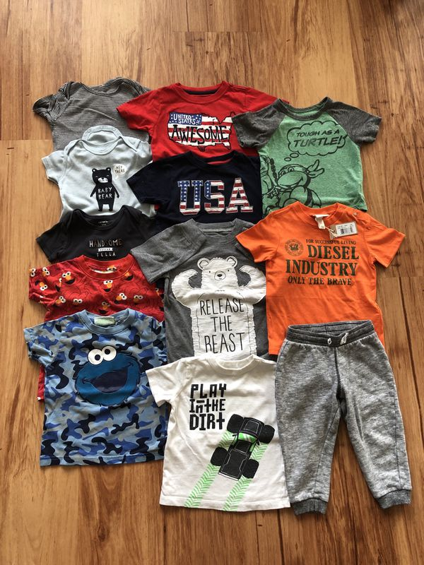 18-24 months baby boy clothes