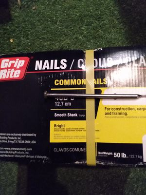 Nails 50pounds for Sale in Santa Ana, CA