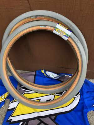 Nos grey tioga comp pools gt bmx for Sale in Downey, CA