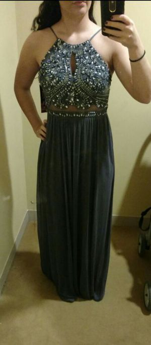 Grey prom dress for Sale in Mentor, OH