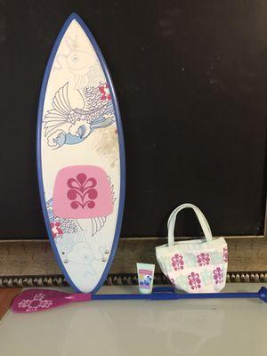 "American Girl Doll ""Kanani's Paddleboard Set"" for Sale in San Antonio, TX"