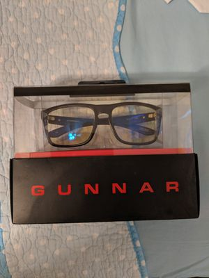 Gunnar gaming and computer eyewear glasses blue light filter for Sale in Olympia, WA