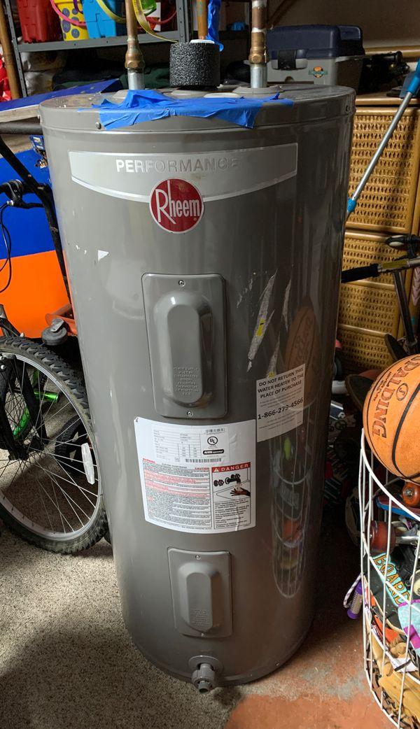 Rheem 40 Gallon Water Heater