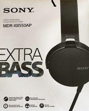 Sony XB550AP EXTRA BASS Headphones Buy Sony XB550AP (2017 model) for Sale in Dallas, TX