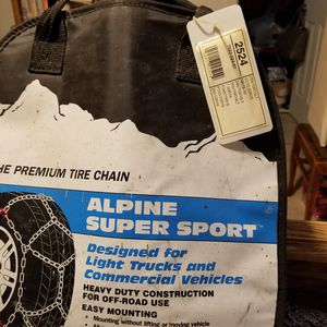 Snow tire chains for Sale in Buckley, WA