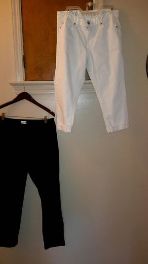 Calvin Klein and Chico womens capris for Sale in Cleveland, OH