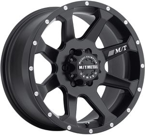 18x9 Mickey Thompson MM-366 satin black wheels 6x5.5 NEW for Sale in Victoria, TX