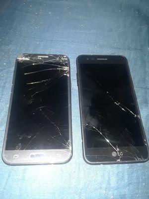 SAMSUNG AND LG PHONE for Sale in San Bernardino, CA