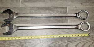 Wright Open End Wrenches 2 3/16 and 2 1/8 for Sale in Monahans, TX