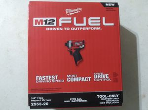 Milwaukee m12 Impact Driver Tool Only for Sale in Miami, FL