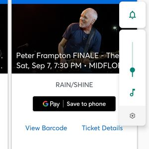 2 Frampton Tickets-Free for Sale in Cape Coral, FL
