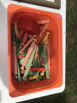 Lincoln Logs (Flat Pieces Only) for Sale in Chesapeake, VA