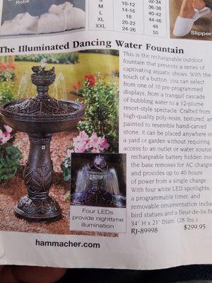 Fountain for Sale in Chicago, IL