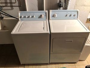 Kenmore 90 series washer and dryer super capacity plus for Sale in Woodridge, IL