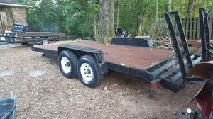 16+2 16k Dovetail Equipment Trailer 8 lug axles for Sale in Atlanta, GA