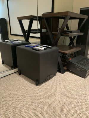 Polk Yamaha Klipsch JBL surround sound system for Sale in Chicago, IL