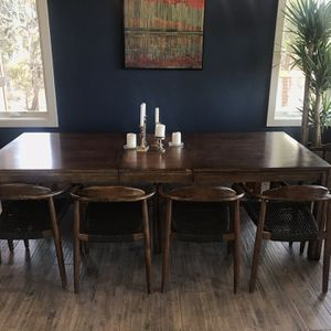 West Elm Dining Table, Solid Bamboo for Sale in Bend, OR