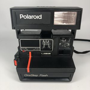 Polaroid OneStep Flash Instant 600 Film Black Camera Neck Strap for Sale in Vallejo, CA