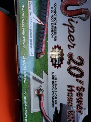 Viper 20 Foot RV Sewage Hose Kit Expandable Brand New for Sale in Villa Rica, GA