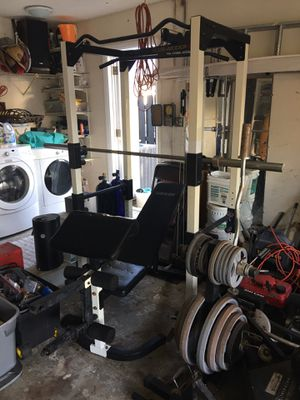 Weider 560 Squat rack/Universal/Weight station for Sale in Southwest Ranches, FL